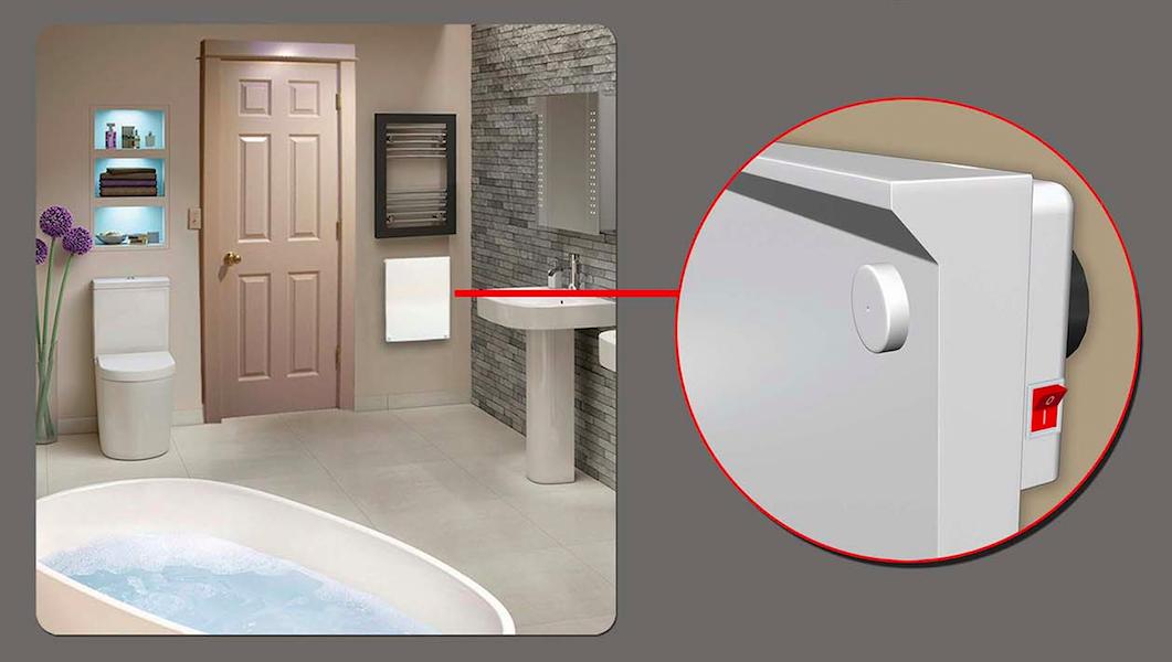 Splash Proof Bathroom Heaters
