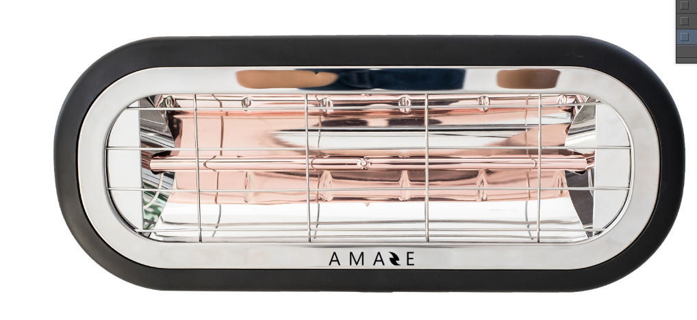 Amaze Heater 1500 Watt Outdoor Patio Heater